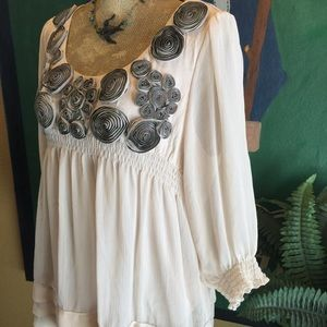 Ice Tops - Ice Dressy Top Embellished Top Tunic